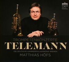 TELEMANN-TROMPETENKONZERTE - KAMMERPHILHARMONIE BREMEN   CD NEU