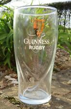 GUINNESS LIMITED EDITION 2019 RUGBY WORLD CUP 440ML GLASS ONLY £5.99 FREE POST !