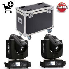 230W 7R 16ch Moving Head Light Fascio Beam Teste Mobile Luce DJ Disco + Case