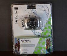 VIVITAR MAKE A SPLASH CAM HD Video GRAY/SILVER (Model DVR 781 HD ) BRAND NEW