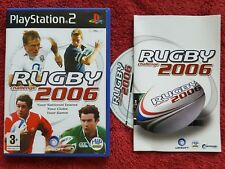 RUGBY CHALLENGE 2006 ORIGINAL BLACK LABEL SONY PLAYSTATION PS2 PAL