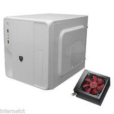AvP HYPERION EV33W BIANCO mATX USB 3.0 cubo COMPUTER PC MEDIA caso con da 750W PSU