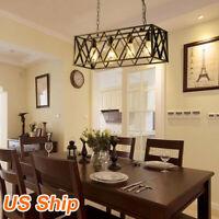 Vintage Industrial Kitchen Island Light Pendant Lamp Chandelier Lighting Fixture