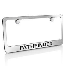 Nissan Pathfinder Chrome Metal License Plate Frame