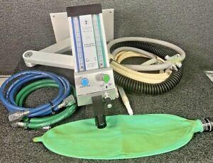 Belmed PC7 Model 5000 Dental Nitrous Gas Sedation Regulator Flowmeter, Complete