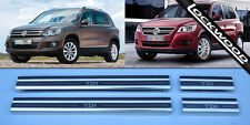 VW Tiguan Acier Inoxydable Sill Protections/coup De Pied Plaques