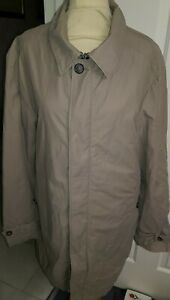 """M&S LIMITED EDITION MENS FABULOUS TRENCH COAT SIZE L  ,44""""CHEST"""