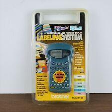 Nos Brother Labeling System Home Hobby Iii P Touch Model Pt 85