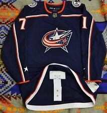 Adidas Columbus Blue Jackets Nick Foligno NWT Hockey Jersey Authentic 46 NHL New