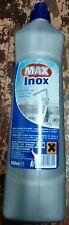 Max Inox Sgrassatore Acciaio  con Barriera Protettiva Bottiglia 500ml x 4 bott
