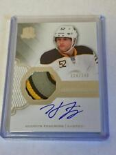 2016-17 Upper Deck The Cup Hudson Fasching Auto RC Patch /249!