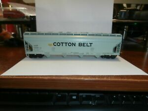 ATHERN HO SCALE COVERED HOPPER CAR-COTTON BELT--79486