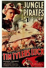 TIM TYLER'S LUCK Movie POSTER 27x40 Frankie Thomas Frances Robinson Jack Mulhall