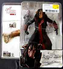 2004 Jigsaw Killer Puppet Action Figure Saw Movie Cult Classics NECA Reel Toys