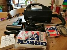 Oreck XL BB1005 Cylinder handheld vacuum cleaner. Excellent condition. & extras!