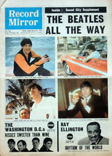 RECORD MIRROR 21 MAR 1964 . THE BEATLES FRONT COVER . ROLLING STONES . NOT NME