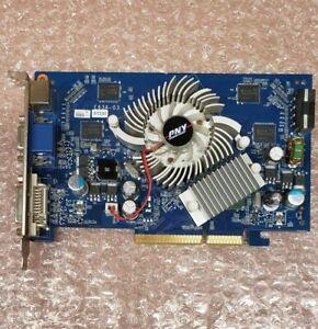 PNY VCG76512SAPB GeForce 7600GS 512MB DDR2 AGP 8X graphics card, DVI VGA S-video
