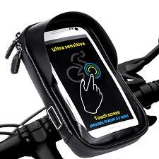 Wasserdicht Handyhalter Fahrradlenkertasche Fahrrad Tasche für Handy GPS 6 Zoll