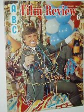 ABC FILM REVIEW ....(January 1968)..TOMMY STEELE cover