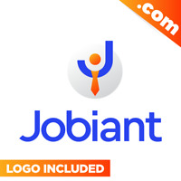 Jobiant.com - Cool brandable domain name for sale! Godaddy PREMIUM LOGO 7-Letter