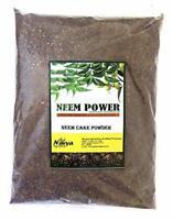 Navya Agriallied Neem Cake Powder Organic Fertilizer For Gardening Neem Cake 3kg