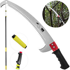 More details for 4.2m pole pruner saw telescopic long reach extendable hedge pruning saw 4 -14ft