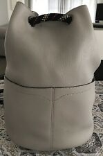 Grey Rebecca Minkoff Leather Bucket Bag - Brand New Condition