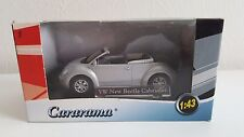 Cararama - Volkswagen Beetle Cabriolet grise (1/43)