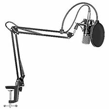 Neewer Nw-700 Condenser Microphone & Arm Stand With Shock Mount and Clamp Kit