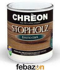 Finitura per legno effetto cera Chreon Stopholz Stoppani da 750 ml vari colori