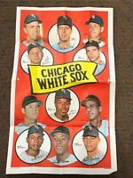 1969 Topps Poster #11 CHICAGO WHITE SOX VG-EX Luis Aparicio *AP15