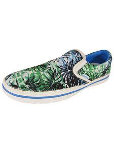 Crocs Mens Norlin Graphic Slip On Shoes