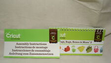 Cricut Cartridge BOOKLET AND ASSEMBLY INSTRUCTIONS ONLY TAGS BAGS BOXES & MORE 2