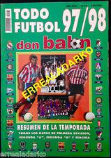 DON BALON EXTRA TODO FUTBOL 97-98 REAL MADRID-CHELSEA-BARCELONA-INTER MILAN ETC