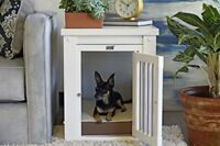 New Age Pet InnPlace Dog Crate - Antique White Medium