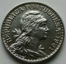 1961 Portugal 1 Escudo Coin KM # 578 Republica Portuguese 2,505,000 Minted