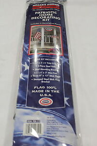 NEW PDK-2-T VALLEY FORGE PATRIOTIC DECORATING KIT UNITED STATES   NEW