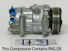 2007-2015 MINI COOPER  USA REMAN.GENUINE SANDEN AC COMPRESSOR W/ 1 YEAR WARRANTY