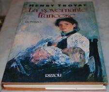 TROYAT Henry - LA GOVERNANTE FRANCESE - Rizzoli 1A 1990