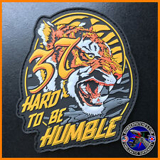 37th Bomb Squadron Hard to be Humble PVC Morale Patch, B-1 Lancer, Ellsworth AFB