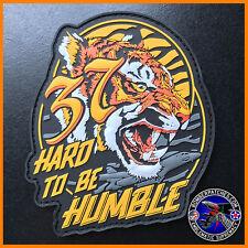 37th Bomb Squadron Hard to be Humble PVC Morale Patch, B-1 Lancer, Ellsworth AFB