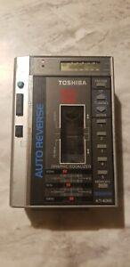 Toshiba Model KT-4066 Cassette Player AM/FM Radio** PLEASE READ**