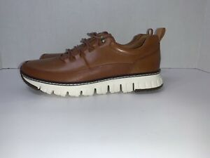 Zerogrand by Cole Haan Rugged Oxford Sneaker British Tan C28467 sz 8 new