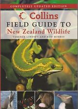 COLLINS FIELD GUIDE TO NEW ZEALAND WILDLIFE Terence Lindsey & Rod Morris **NEW**