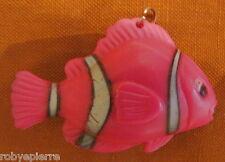 Ex Portachiavi pesce pagliaccio con luce Clown Fish keychain key porta chiavi