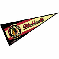 NHL Chicago Blackhawks Vintage Throwback Logo Pennant