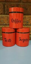 Coffee, Tea & Sugar Container Labels