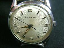 Vintage Classy Men's Wittnauer Wrist Watch Sunburst Dial 11SSG Movement