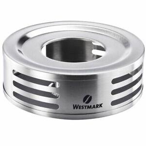 Westmark Edelstahl Stövchen Teewärmer Teebereiter Wärmeplatte Teekannenlicht