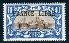 ST PIERRE et MIQUELON 1941 Yvert 237 ** POSTFRISCH (F4447